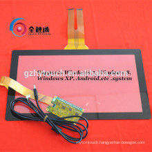 Customized And OEM High Resolution Projected Capacitive Touch Screen Panel