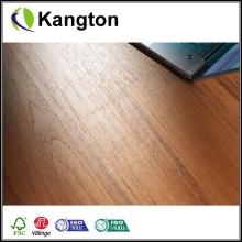 Piso de engenharia de teca escura manchada (piso de engenharia de teca)