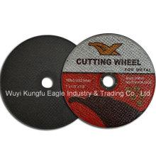 Fabricante de rueda de corte de resina, disco de corte, abrasivos en China