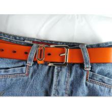 Neuer Entwurf 3.3cm Breite Damequalitäts echtes Leder Gurt-KL8005