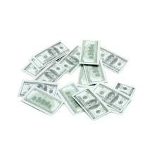 Dollar-Euro-Papier-Konfetti
