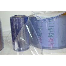 cortina de PVC translúcido a prueba de frío
