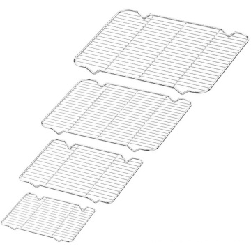 Cooling Rack Custom Bakery Stainless Steel Wire Baking Cooling Rack For Cake Bread