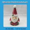 Wholesale ceramic milk mug with big handle in christmas santa pattern
