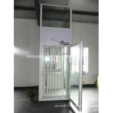 Luxo vista panorâmica / elevador de casa de vidro panorâmico, elevador de casa de campo preço barato da fábrica China