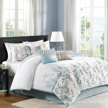 Madison Park Meadow Multi Pieza Ropa de cama edredón bordado conjunto consolador