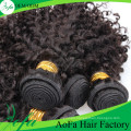 Wholesale Top Quality Human Curly Hair Remy Virgin Hair Weft