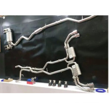 High Performance Gr.1 Titanium Exhaust Pipe