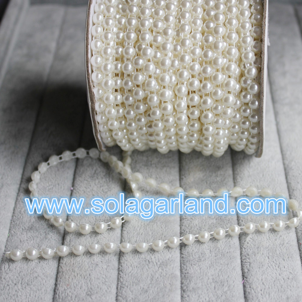 Pearl Bead Ribbon