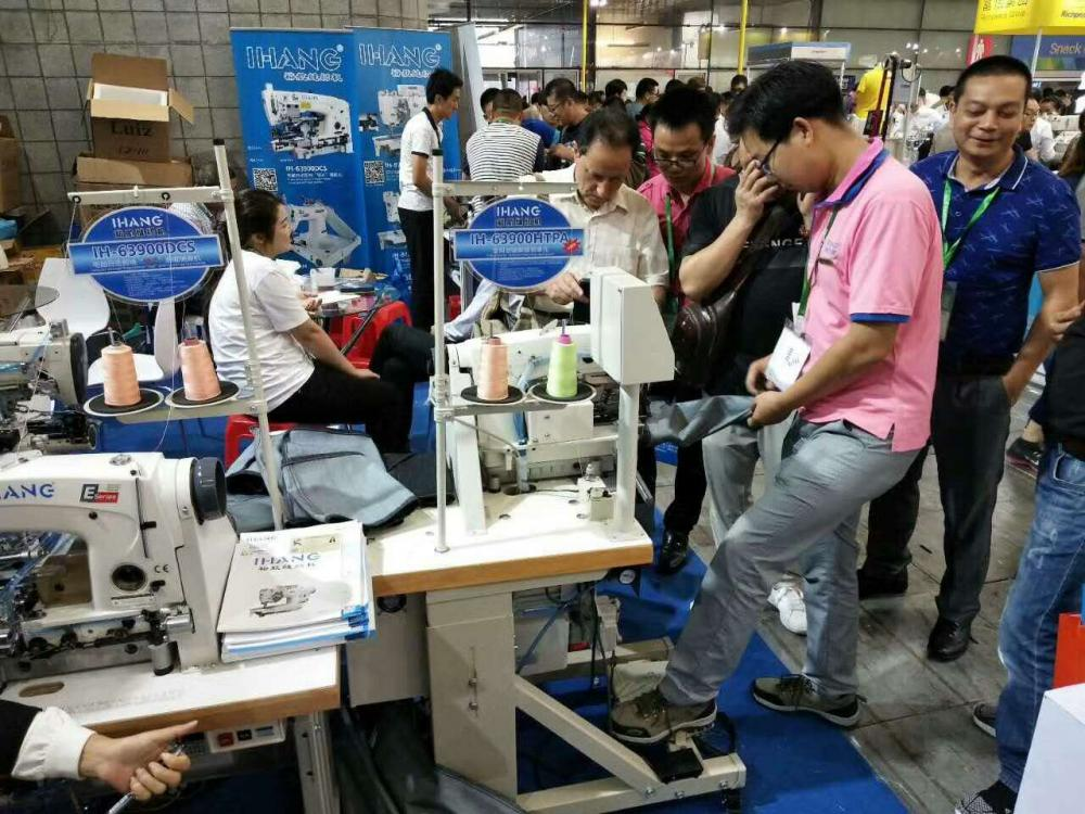 Three Needle Lockstitch Underwear Sewing Machine