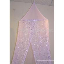 Противомоскитная сетка / сверкающая сетка из комаров / искровой навес / постельное белье