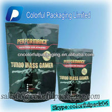 Sauce pouches with spout for wheyprotein/Stand up zipper pouch