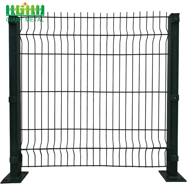 Heavy Duty 3D PVC Coated Wire Mesh Panels China Manufacturer