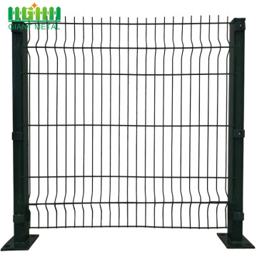 Heat Duty 3D PVC Coated Wire Mesh Panels