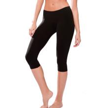Trajes de compresión de las pieles sexuales Deportes Pantalones largos de vestir apretados