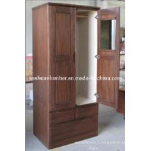 Armoire/penderie armoire porte/bois/meubles (SHZT004)