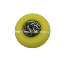 Aço inoxidável scourer / esponja scour / aço inoxidável scourer com forma diferente