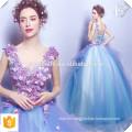Vestido de novia de color elegante elegante estilo elegante China Vestido de boda de encargo OEM vestido de bola