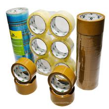 Bande d'emballage de film d'usine de la Chine BOPP, bande de cachetage claire de carton, 22 ans fabricant