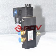 5 puertos 2 válvula de solenoide válvula de aire 5 puerto