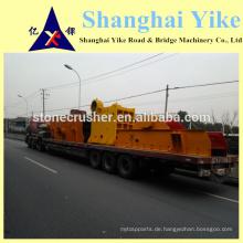 China berühmten Marke hoch effiziente einfache bewegliche mobile Stein Zerkleinerer zum Verkauf
