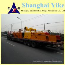 Broyeur de pierre mobile à grande vitesse facile à vendre en Chine