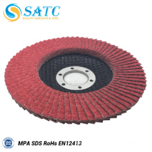 Ceramic Aluminum Oxide Flap Disc for Metal Polishing