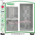 Armarios de almacenamiento de malla metálica UK Doors 12