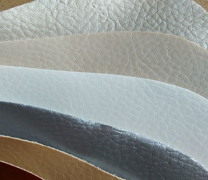 Litchi PVC Leather for Sofa