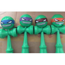 2016 New Teenage Mutant Ninja Turtles Wooden Children Cartoon Kendama Toy