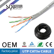 SIPU 4 Paar Utp cat5e Netzwerk-Kabel 305m gestrandet CAT5 Kabel PVC-flexible Kabel Jacke 1000ft