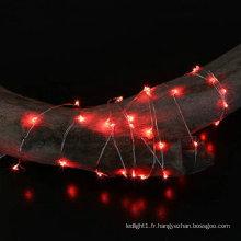 1m 2m 3m 4m 5m 10m 20m 30m 50m Guirlande Lumineuse LED Fil De Cuivre LED Fée De Noël Clignotant Lumière Décorative