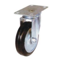 Industrial Black Rubber Light Caster