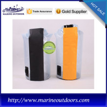 Outdoor dry bag with shoulder straps, travelling waterproof bag