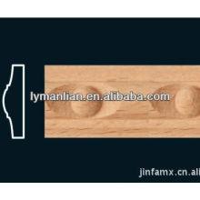 Produtos de madeira de faia natural