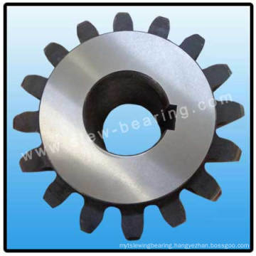 Big mating pinion with teeth quenching