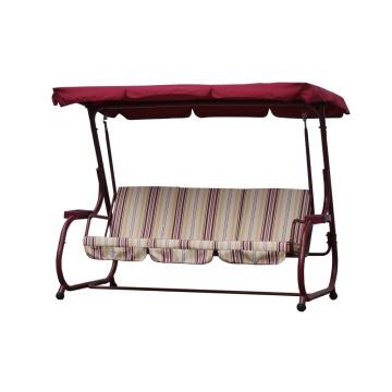 Balanço do pátio para 3 pessoas com dossel de móveis ao ar livre 2016
