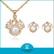 Fashion Factory Direct Sale Costume Silver Jewelry Set (SH-J0074)
