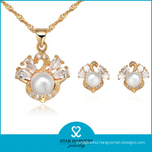 Latest Luxury Pearl Beaded Jewelry Set