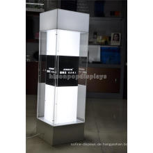 Floor Standing Retail Shop Showroom Parfüm Werbung Glas Ornamente Vitrine Display Schrank