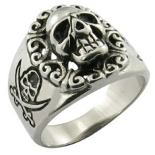 Stainless Steel Jewelry Skull Ring Custom Ring