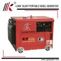 4.5kw 60hz tragbarer Motor stiller Dieselgenerator zu Qatar mit Fabrikpreis