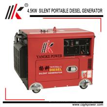 Groupe électrogène diesel à faible bruit de groupe électrogène à faible bruit de groupe électrogène de faible puissance du générateur 12V 8.3A 5.0KW 60HZ à vendre