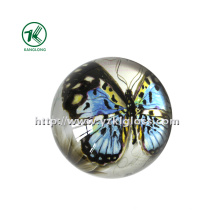 Crystal Paper Weight with Decal Paper (KL140308-1E)