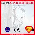 Mécanicien certifié CE 23KN Mountaineer Climbing Aluminium
