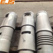 PP, PE, PVC Extruder Bimetall konische Twin Schraube Fass