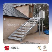 escaleras de acero al aire libre prefabricadas simples
