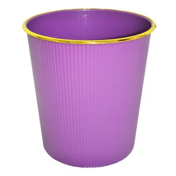 Plastik Pure Color Design Open Top Abfalleimer (B06-930-2)