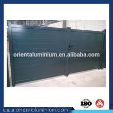 Design de porte simple en aluminium bon marché