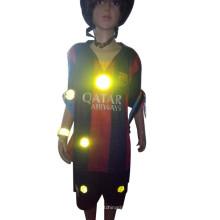 Glühen Sie in der Dunkelheit 3m reflektierendes Aufkleberpapier des runden Blattautos